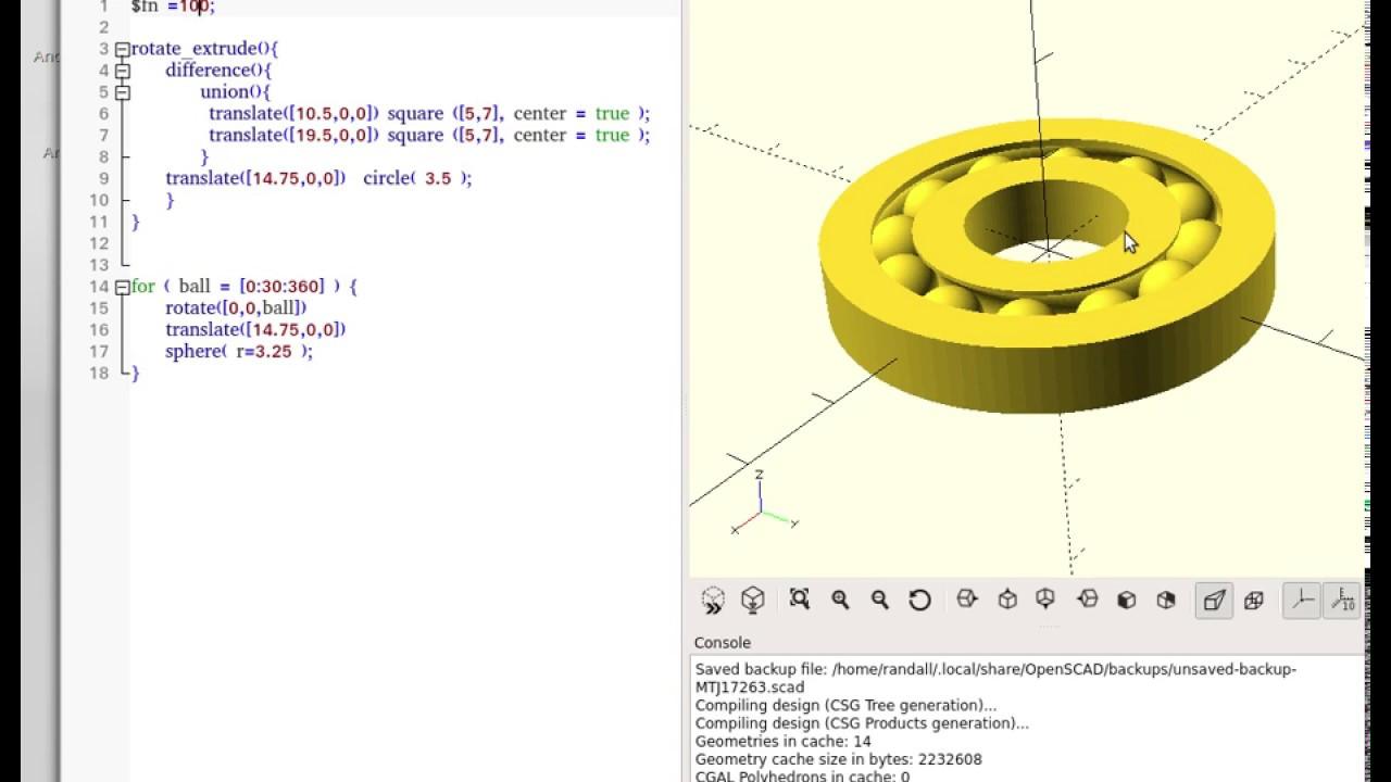 Openscad programmi gratis italia for Modellazione 3d gratis